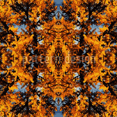 Blattgoldrauschen Abstrakt Nahtloses Vektormuster