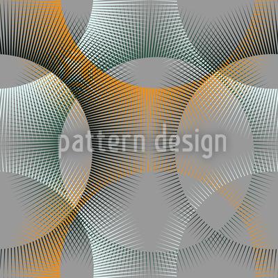 Transparenz Der Strahlenkreise Rapportiertes Design