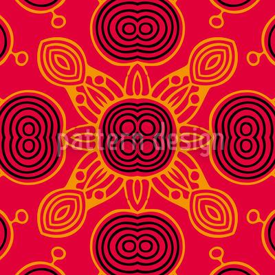 Das Spiel Des Sonnenkönigs Nahtloses Muster