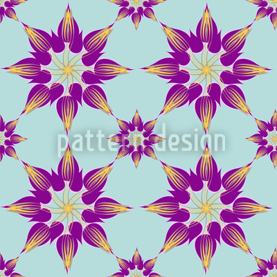 Tulpenpracht Magenta Designmuster