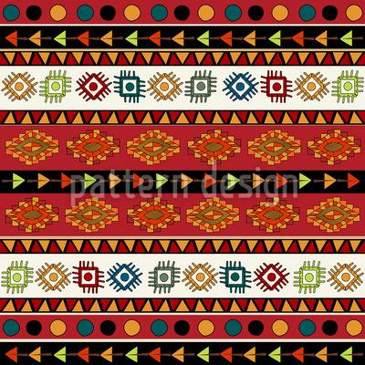 Indianerpfade Muster Design