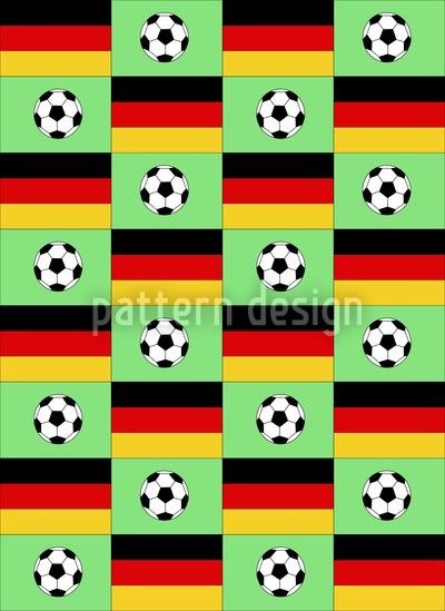 Fussball Made In Germany Designmuster