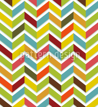 Chevron Color Seamless Vector Pattern