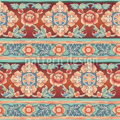 Bordura Russkaja Seamless Vector Pattern