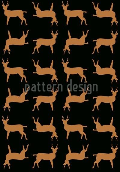 Deer Crossing Pattern Design