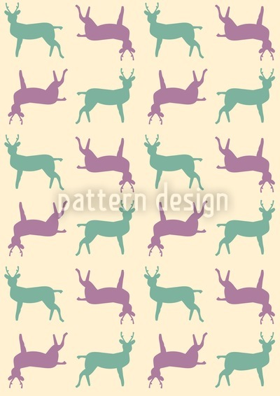 Achtung Wilder Wechsel Muster Design