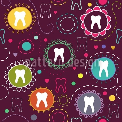 The Tooth Fairy Repeating Pattern