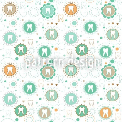 Primary Teeth Collection Pattern Design