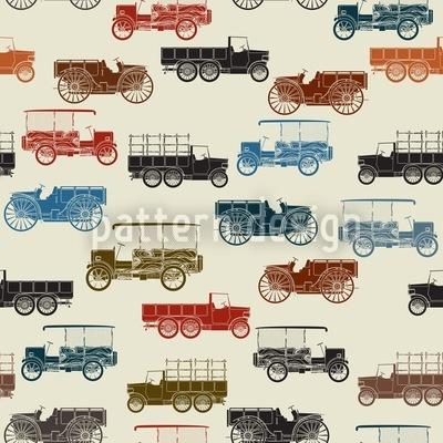 Automobile Musterdesign