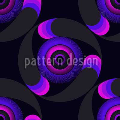 Orakelkreise Nahtloses Muster