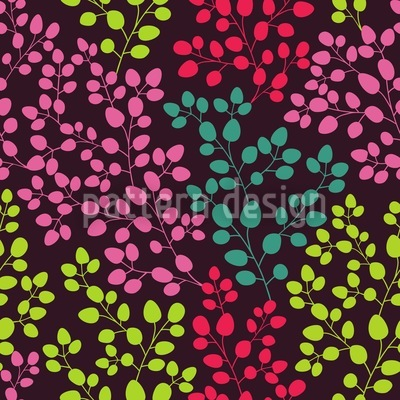 Leaf By Leaf Seamless Vector Pattern Design