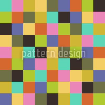Eulatik Zum Quadrat Nahtloses Muster
