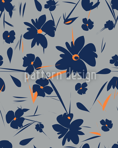 No Wallflowers Seamless Pattern