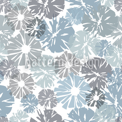 Flowers In The Window Pattern Design