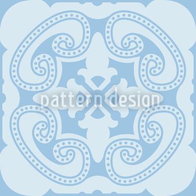Wolken Prinz Muster Design
