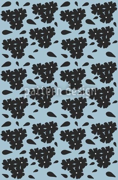 Kleine Blümchen Muster Design