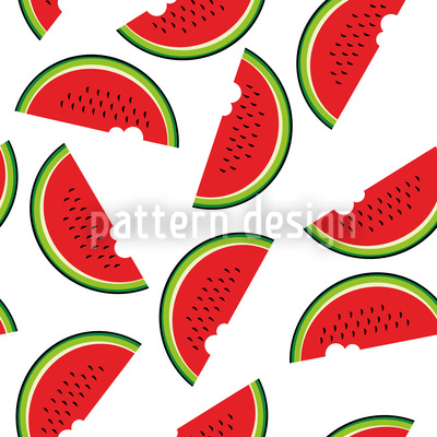 Melonen Tag Rapportiertes Design