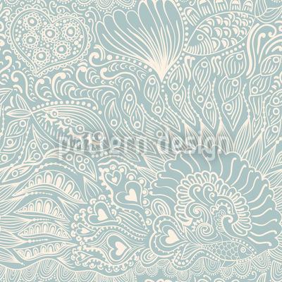 Reefgarden Seamless Vector Pattern Design
