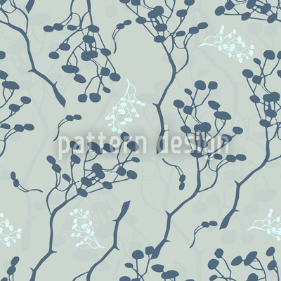 Zen Garden Seamless Vector Pattern Design