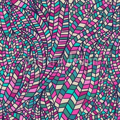 Im Hundertwasser Reich Nahtloses Vektor Muster