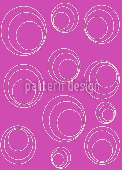 Circles Drive Around Vector Pattern