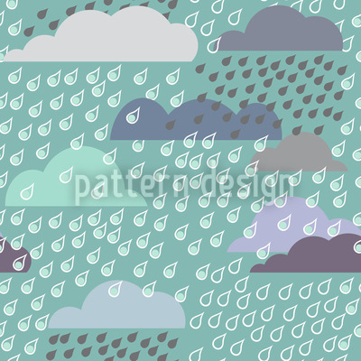 Rainy Day Repeating Pattern