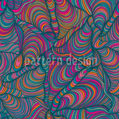 Rasante Maultaschen Vektor Muster