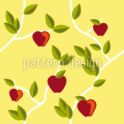 Garden Eden Seamless Vector Pattern Design