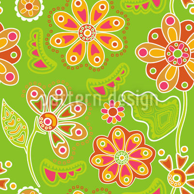 Floral Magic Seamless Pattern