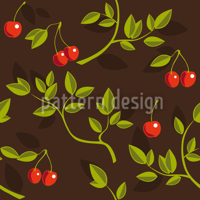 Cherrybranches Seamless Vector Pattern