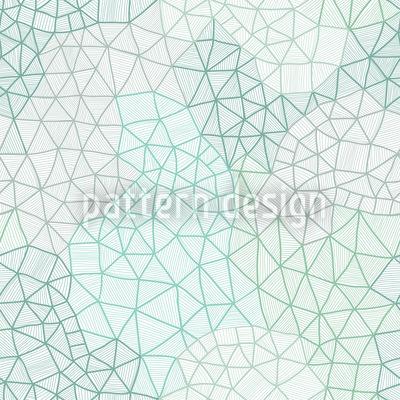 Feines Spinnennetz Rapportiertes Design