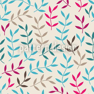 Blattwerk Bohemien Muster Design