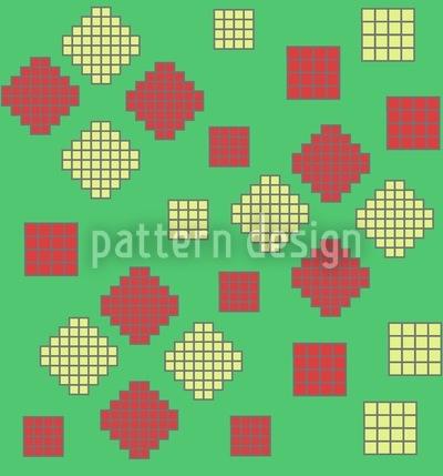 Mosaik Geometrie Nahtloses Muster