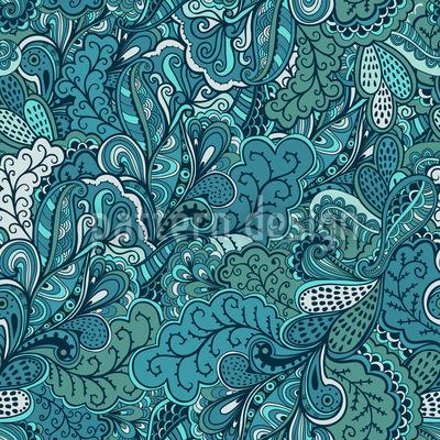 Fantasien Vom Paradies Muster Design