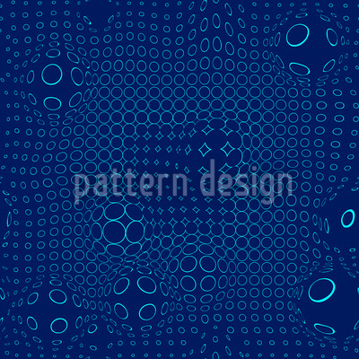 Netzwerk Flut Musterdesign