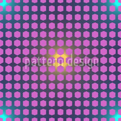Hexagon Resurrection Seamless Pattern