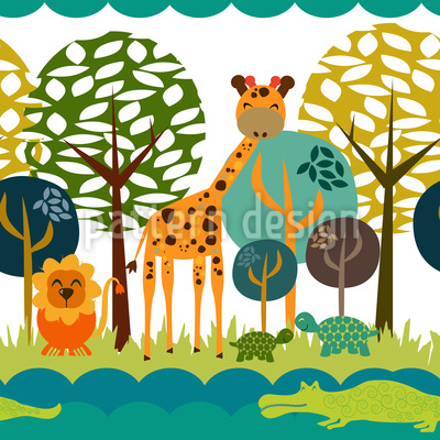 African Safari Club Muster Design