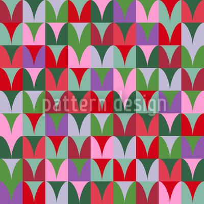 Herzfelder Nahtloses Muster