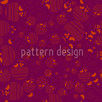 Paisley Kids Vector Pattern
