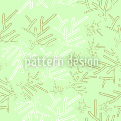 Winter Äste Designmuster