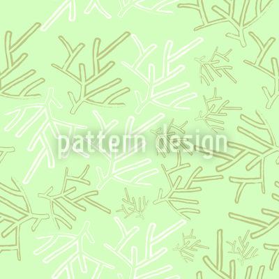 Membros de Inverno Design de padrão vetorial sem costura