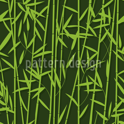 Big Bamboo Vector Ornament