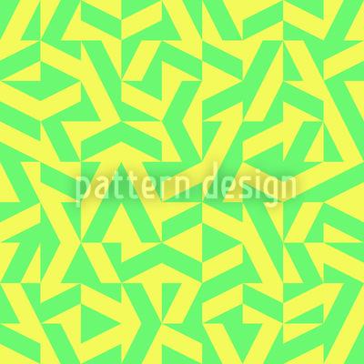 Geometrische Limonade Nahtloses Vektor Muster