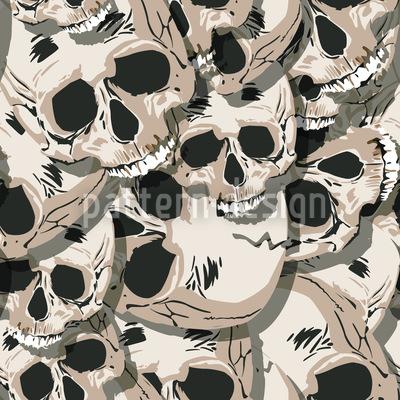 Die Totenköpfe Von Kutna Hora Musterdesign