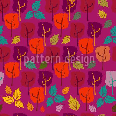 Wenn Die Blätter Fallen Vektor Design