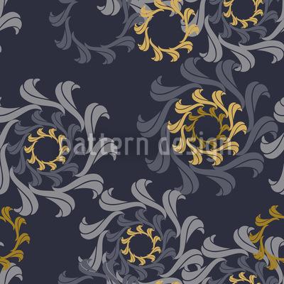 Zahnrad Renaissance Muster Design