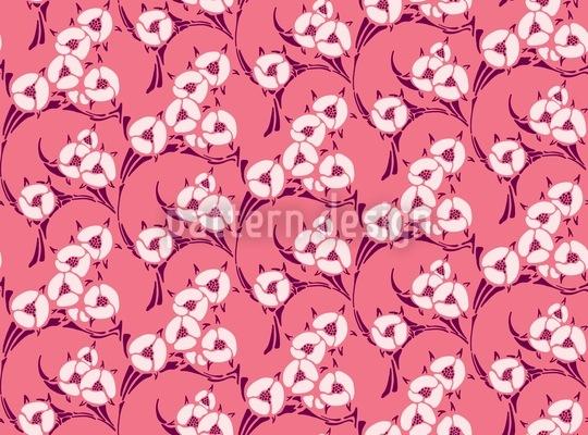 Une Chanson En Rose Muster Design