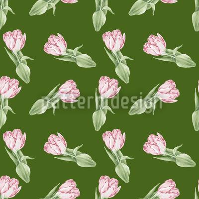 Tulpen Romanze Designmuster