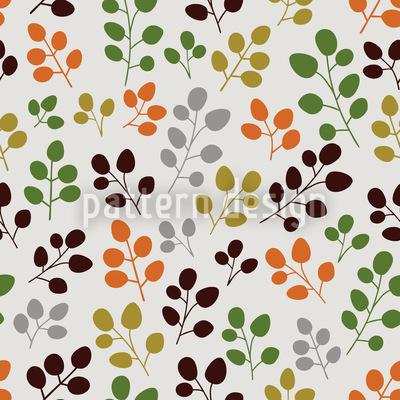 Mein Zartes Herbstblatt Vektor Ornament