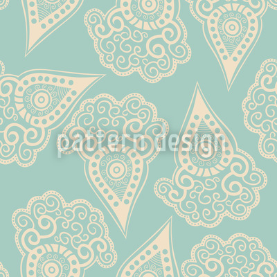 Baby Is Dreaming Of Carrots Seamless Vector Pattern